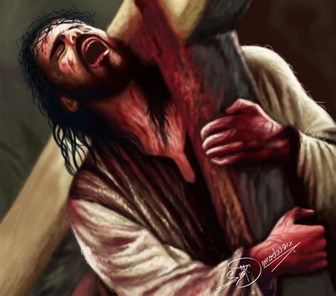 jesus carrying cross tattoo onebaddecisionawayfromhomelessness2 smile you re at the