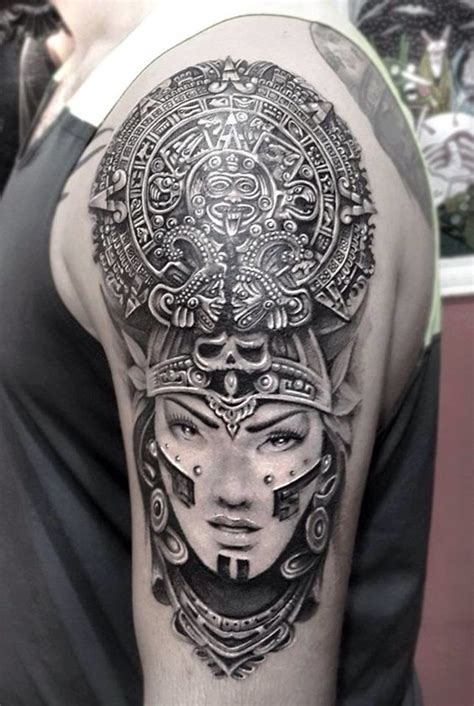 mayan calendar tattoo designs 40 ancient mayan designs
