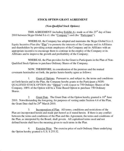 grant agreement letter 34 simple agreement forms free premium templates