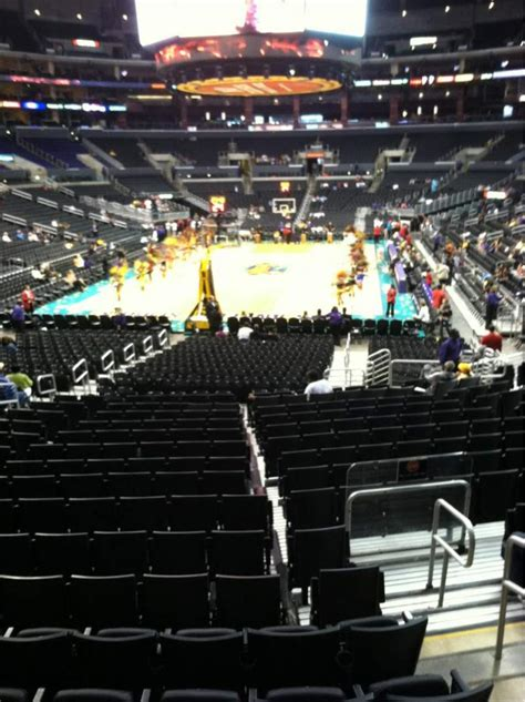 staples center section  home  los angeles kings