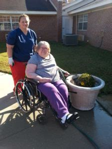 comfort care hospice andalusia al ms helen taylor salynn mullins watering flowers