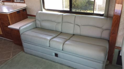 couch trailer rv jackknife sofa dimensions best sofas decoration