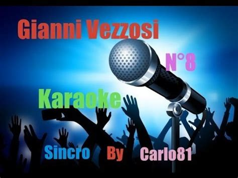 franco calone pulita testo gianni vezzosi n 176 8 karaoke asurekazani