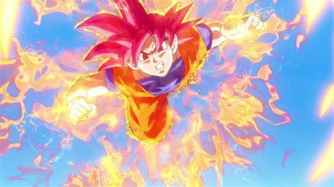 dragon ball z super wallpaper 1080p goku super saiyan god 1080p wallpaper dragon ball
