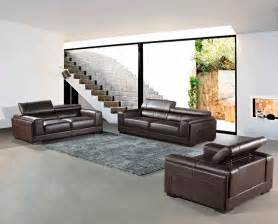 brown sofa set modern top grain brown leather sofa set vg818 leather sofas
