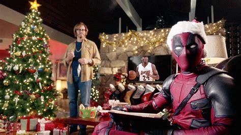 merry christmas  deadpool ryan reynolds gifts fans   trailer