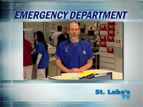 emergency room nyc why go to the emergency room at st luke s hospital nyc dr dan wiener