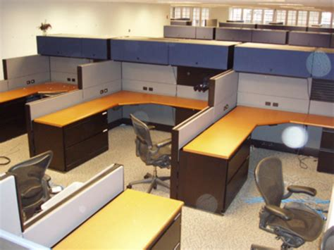 herman miller desk used 6 herman miller ethospace davena office furniture