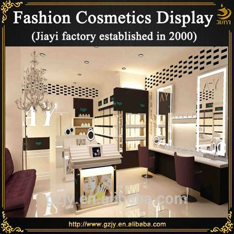 Modern High end Cosmetic Store Display For Retail Makeup Shop Interior Decoration Furniture