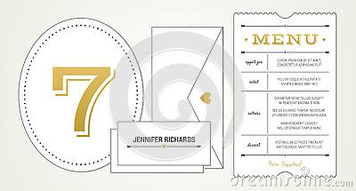 ticket place cards template wedding invitation pt 3 template menu table number
