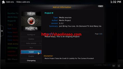 how to install project m tutorial how to install project m for kodi