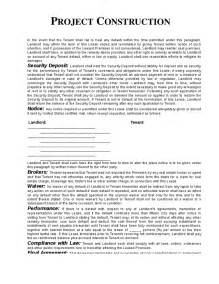 construction work contract template construction contract template real estate forms