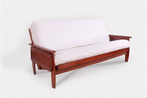 cherry futon frame denver tray futon frame dark cherry right futons more