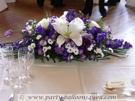 Top Wedding Table Decorations by Wedding Flowers Top Table Decorations Flickr Photo