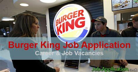 Mba Leadership Program Burger King Salary by Burger King Application 2016 Application Center