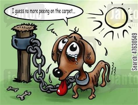 how to punish dog for peeing in house carpets cartoons humor from jantoo cartoons