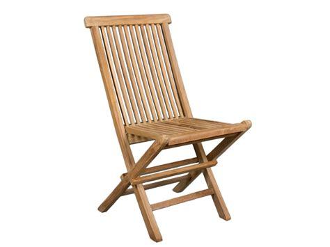 sillas de jard n silla jard 237 n plegable de madera de teca muebles exterior