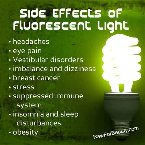 harmful effects of led lights effects of fluorescent light physical culturist