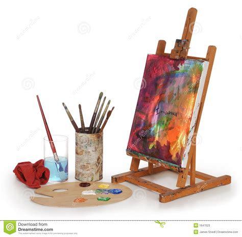di banco pittore banco di arte fotografie stock immagine 1647023