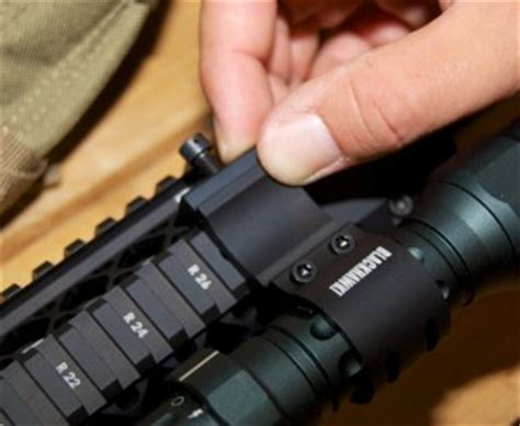 mounting a tactical light on your ar 15 my gun culture