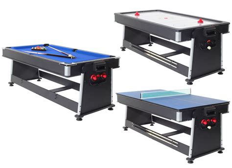 7 foot multi games table strikeworth multi games table with blue cloth liberty games