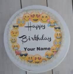 emoji cake topper emoji cupcake topper precut edible image