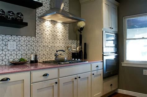 Pink Countertops Kitchen by Pink Quartz Countertops I The Backsplash From
