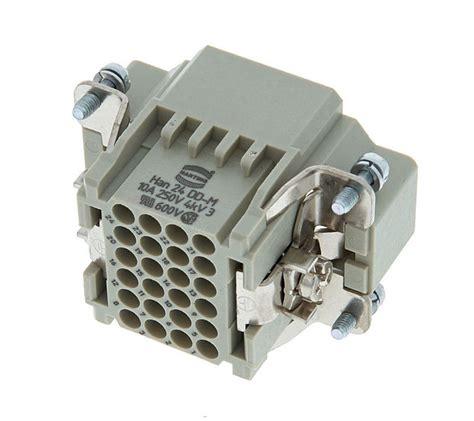Harting Connector 24 Pin harting multipin 24 pin thomann united states