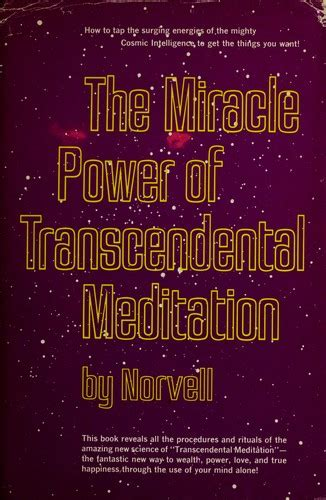 strength in stillness the power of transcendental meditation books the miracle power of transcendental meditation open library