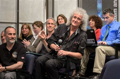 brian may family secret science nerds queen s lead guitarist brian may is