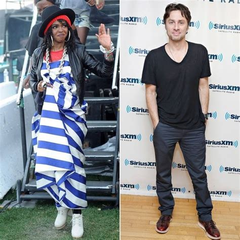 lauryn hill zach braff lauryn hill zach braff 13 celebrities who went to high