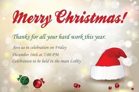 employee holiday luncheon invitation template invite