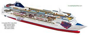 Carnival Dream Floor Plan cruceros el msc sinfonia va de barcos