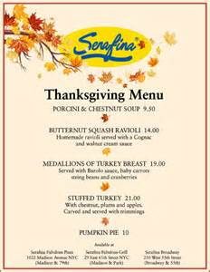 thanksgiving menue thanksgiving day menu current event