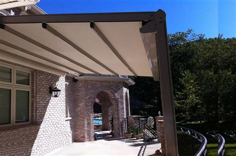 dothan awning retractable pergola cover outdoor goods