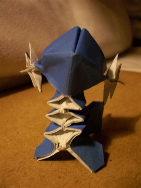 Origami Lugia - origami gotta fold em all