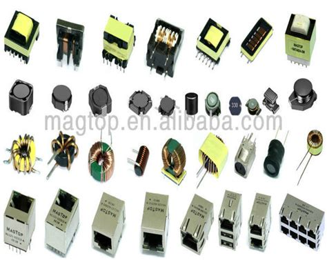 tipos de inductor o bobina ee ef efd ep epc pq series todos os tipos de pequenos transformador de alta freq 252 234 ncia de alta