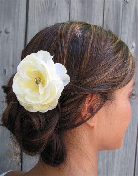 yellow hair accessories wedding bridal hair comb silk rhinestone comb wedding comb