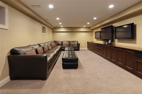 modern basements 60 finished basement quot man cave quot designs awesome pictures
