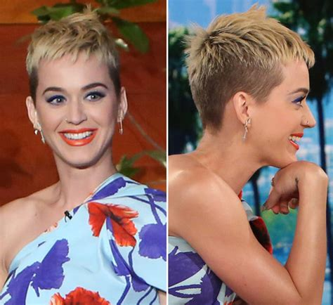katy perry new hair cut katy perry chopped her hair off because of too much bleach