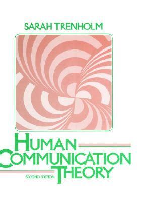 bodily communication books human communication theory book by trenholm 0