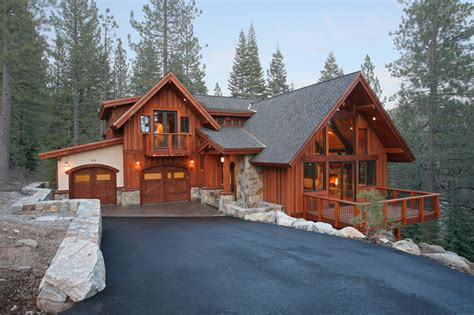 Log Cabin Homes Interior by Hidden Lake 22 Old Tahoe Style Mountain Home Mountain