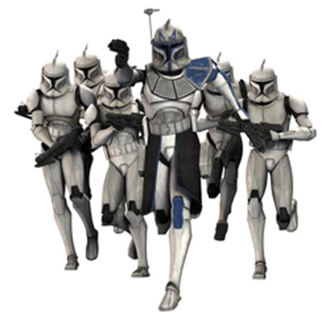 One All Character 0053 Hardcase 3d Print For Samsung Galaxy 1 image captain rex and his 501st troopers png the clone