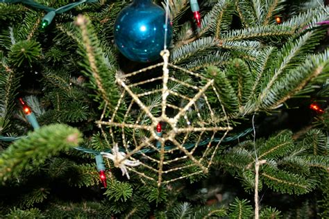 why are spider webs a popular christmas tree decoration wonderful traditions from around the world
