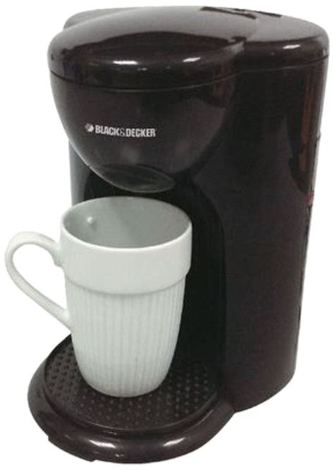 Coffee Maker Black Decker Penyeduh Kopi 1 Cup 330 Watt Dcm25 B1 black decker dcm25 1 cup coffee maker 220v black price i