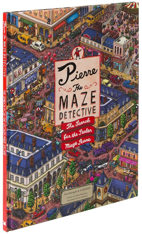 pierre the maze detective 1780675631 pierre the maze detective hiro kamigaki and ic4design review culturefly