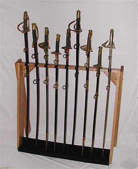 Sword Rack by Knives Swords