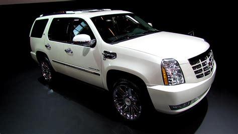 2013 cadillac escalade hybrid platinium exterior and interior walkaround 2012 paris auto
