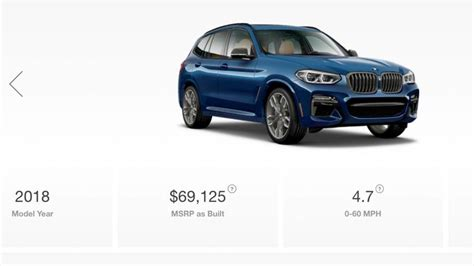 build 2018 bmw x3 most expensive 2018 bmw x3 costs 70 120
