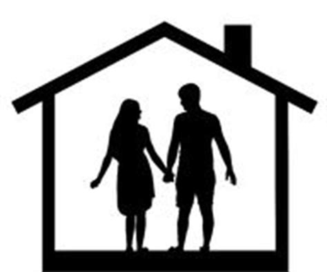 house family parents  children  home roof stock